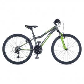 """Велосипед подростковый Author A-MATRIX 24"""" 2015 серо-зеленый"""