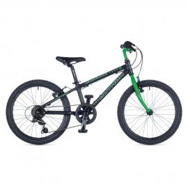 """Детский велосипед Author COSMIC 20"""" 2015 черно-зеленый"""