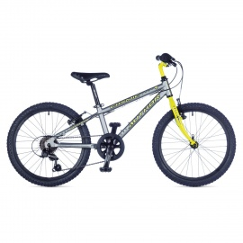 "Детский велосипед Author COSMIC 20"" 2015 серо-желтый"