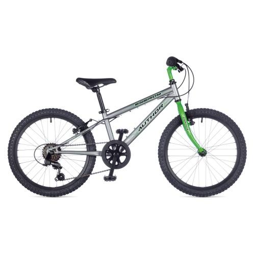 """Детский велосипед Author ENERGY 20"""" 2015 серо-зеленый"""