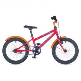"""Детский велосипед Author ORBIT 16"""" 2015 красный с приставными колесами"""