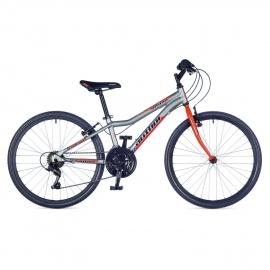 """Велосипед подростковый Author ULTIMA 24"""" 2015 серо-оранжевый"""