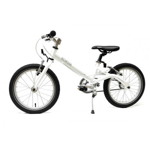 Велосипед KOKUA LIKEtoBIKE-16 V-Brakes белый