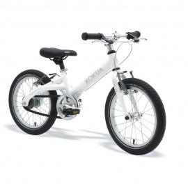 Велосипед KOKUA LIKEtoBIKE-16 Automatix V-Brakes белый