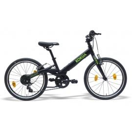 Велосипед детский KOKUA LIKEtoBIKE-20 Special Model черный/зеленый