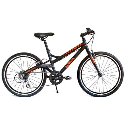 Велосипед KOKUA LIKEtoBIKE-24 Special Model Black черно-оранжевый
