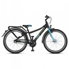 Двухколесный велосипед Puky Crusader 24-3 Alu City light черно-голубой