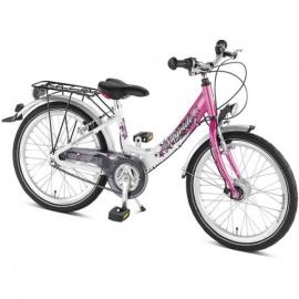 Двухколесный велосипед Puky Skyride 20-3 Alu бело-розовый