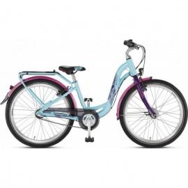 Двухколесный велосипед Puky Skyride 24-3 Alu Active light бирюзово-лиловый