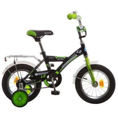 """Детский велосипед NovaTrack Astra 12"""" черный"""