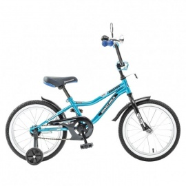 """Детский велосипед NovaTrack Boister 16"""" синий"""