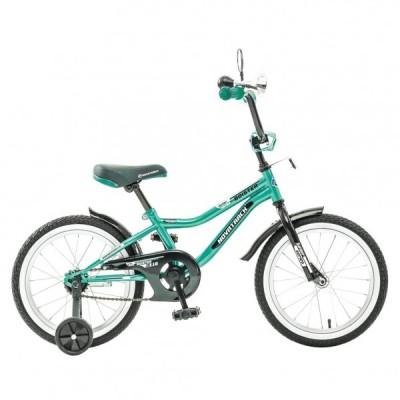 """Детский велосипед NovaTrack Boister 16"""" зеленый"""