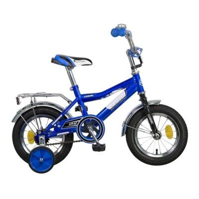 """Детский велосипед NovaTrack Cosmic 12"""" синий"""