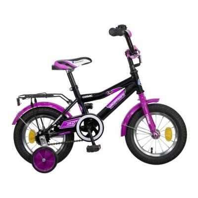 """Детский велосипед NovaTrack Cosmic 12"""" черный"""