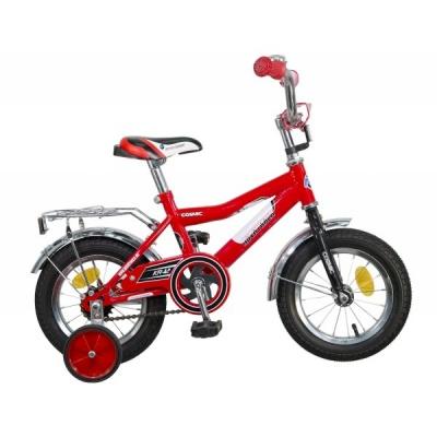 """Детский велосипед NovaTrack Cosmic 12"""" красный"""