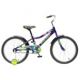 """Детский велосипед NovaTrack Cron 20"""" синий"""