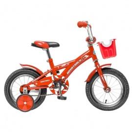 """Детский велосипед NovaTrack Delfi 12"""" красный"""