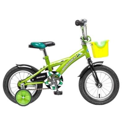 """Детский велосипед NovaTrack Delfi 12"""" салатовый"""