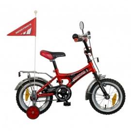 """Детский велосипед NovaTrack Формула 12"""" красный"""