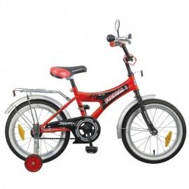 """Детский велосипед NovaTrack Формула 16"""" красный"""
