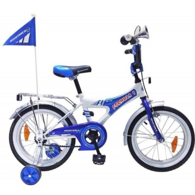 """Детский велосипед NovaTrack Формула 16"""" синий new"""
