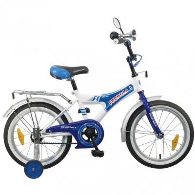 """Детский велосипед NovaTrack Формула 16"""" синий"""