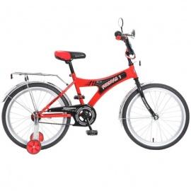 """Детский велосипед NovaTrack Формула 20"""" красный"""