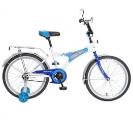"""Детский велосипед NovaTrack Формула 20"""" синий"""