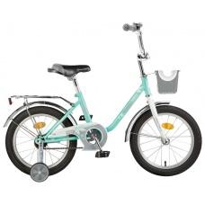 """Детский велосипед NovaTrack Maple 14"""" зеленый"""