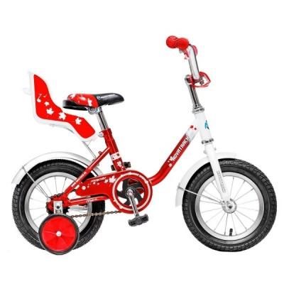 """Детский велосипед NovaTrack UL 12"""" красный"""