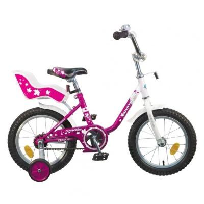 """Детский велосипед NovaTrack UL 12"""" сиреневый"""