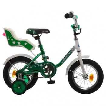 """Детский велосипед NovaTrack UL 12"""" зеленый"""