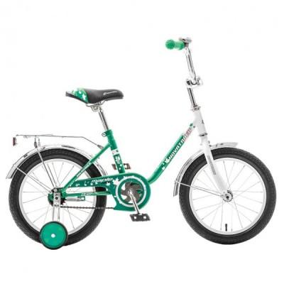 """Детский велосипед NovaTrack UL 16"""" зеленый"""