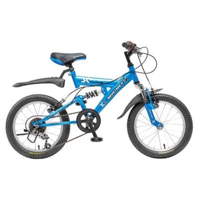 """Детский велосипед NovaTrack YN 16"""" голубой"""