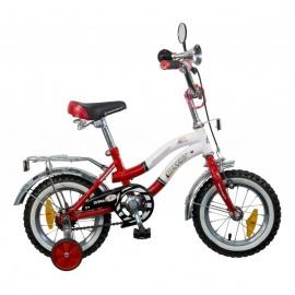 """Детский велосипед NovaTrack Зебра 12"""" красный"""