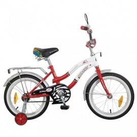 """Детский велосипед NovaTrack Зебра 16"""" красный"""