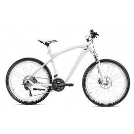 Велосипед BMW Cruise белый с белыми колесами