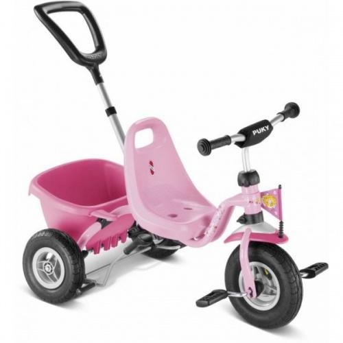 Трехколесный велосипед Puky CAT 1L 2016 lillifee розовый