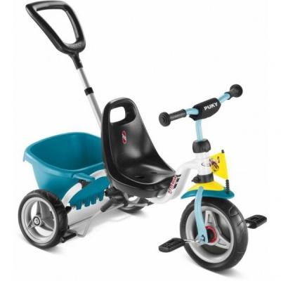 Трехколесный велосипед Puky CAT 1 S 2016 бело-голубой
