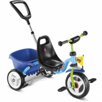 Трехколесный велосипед Puky CAT 1 S голубой