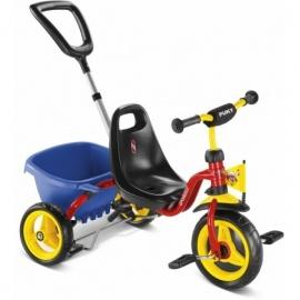 Трехколесный велосипед Puky CAT 1 S 2016 красный