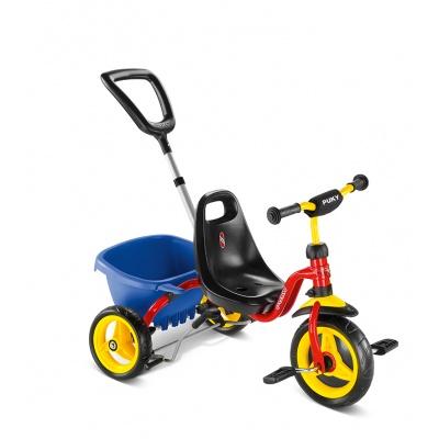 Трехколесный велосипед Puky CAT 1 S красный
