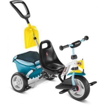 Трехколесный велосипед Puky CAT 1SP бело-синий