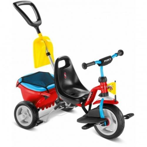 Трехколесный велосипед Puky CAT 1SP красно-синий