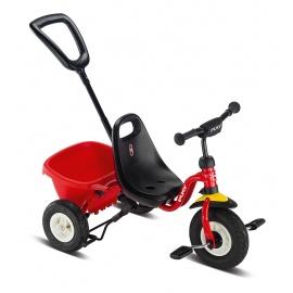 Трехколесный велосипед Puky Ceety Air красный с надувными колесами