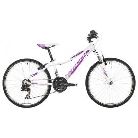 "Велосипед Rock Machine CATHERINE 24"" фиолетово-белый"