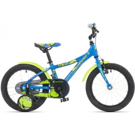 "Велосипед Rock Machine DINO 16"" сине-зеленый"