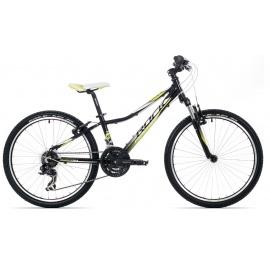 "Велосипед Rock Machine SURGE 24"" VB черно-желтый"