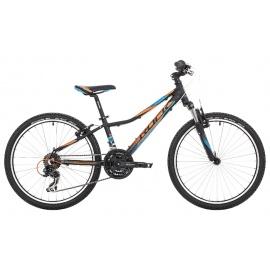 """Велосипед Rock Machine SURGE 24"""" VB черно-оранжевый"""