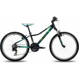 Велосипед SUPERIOR XC 24 PAINT (2015) черно-зеленый